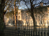 Dappled  sunlight  on  the  Old  Royal  Naval  College.
