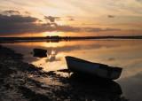 The  ebbing  tide  at  dawn.