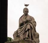 Sir  Walter  Scott  gets  the  bird !