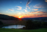 Pépéluche HDR sunset