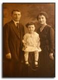 Grandpa, Pearl & Grandma Chusid