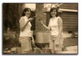 Cousins Nina & Myra Morrow