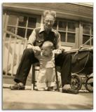 Grandpa & Baby Joel