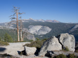 On the way to Half Dome