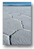 plaques de sel, salar d'Uyuni