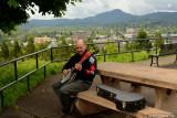 Making Beautiful Music Atop Skinners Butte