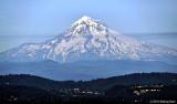 Mount Hood In A Haze