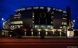 Autzen Stadium at Night