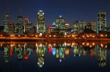Downtown Montréal at different moments