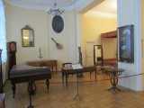 part of the collection of musical instruments