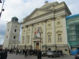 just after the beatification of Jan Pawel II, the city is still celebrating