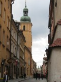 into the streets of the old town