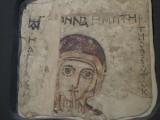 frescoes from a Coptic monastery at Faras, Sudan, 9th c.