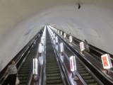next morning, down into the deep metro