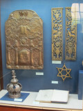 some relics at the museum of religions