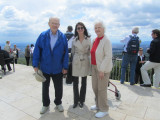 with Herb and Lucille on Kahlenberg above the city