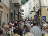 the old town is really crowded with tourists!