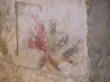 a little color left in the ruins of the 16th c. romanesque chapel