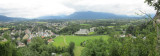 panorama: from the Festung Hohensalzburg looking south