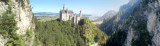 panorama: Neuschwanstein castle