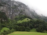 back up in Lauterbrunnen