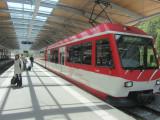 in Täsch, we pick up the train to Zermatt