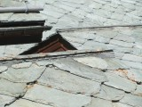 a wide variety of stone-shingled roof styles...