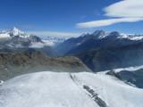 glaciers all around