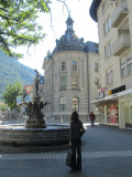 we stop at last at the oldest Swiss town, Chur