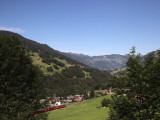 today we are following the Glacier Express east through the Swiss resort area...