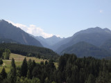 heading south out of Bolzano, for the Val di Fiemme