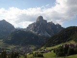 looping back now to the Val di Gardena...