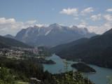...or vistas: here, the Lago di Pieve di Cadore