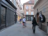 in the Židovska ulica, the old Jewish quarter