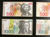 pre-Euro currency with images of Plecnik and Prešeren