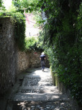 the alley narrows...