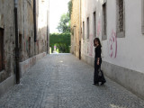 now we are following the alleys to the southern neighborhood of Krakovo...