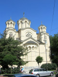 the next day, we start at the Serbian orthodox church...