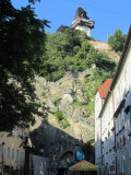 a view up at the Schlossberg