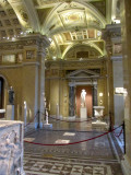 moving into the Greek and Roman gallery