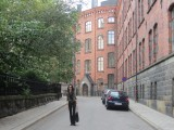 ...and quiet streets during the summer holidays