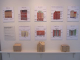 and a deep display of building styles, materials, etc.