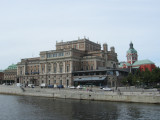 now we pass the Opera house, on our way to Vasastan in the north part of the city