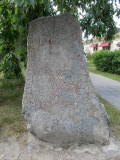 runestones have been extracted from the foundations of the church ruins