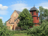 the old church at Skokloster castle