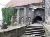 ...to the ruins of the Dominican church
