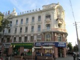 here's the hotel, a historic 'passage' complex of shops, offices, and lodging