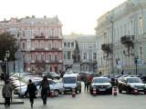 the harbor end of Katerynynska street
