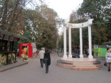 finally today we visit Arkadia park on the Black Sea