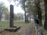 then we end the day at the city's Shoah memorial...